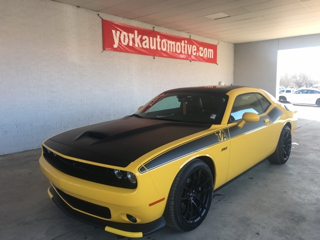New 2018 Dodge Challenger Srt8 392 2d Coupe In 18280 York Automotive